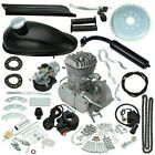 80cc 2 Stroke Bike Cycling Motorized Bicycle Engine Motor Kit Muffler Petrol Gas