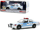 2011 FORD CROWN VICTORIA INTERCEPTOR POLICE NYPD 1 24 DIECAST GREENLIGHT 85513