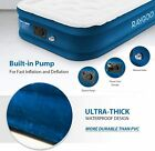 Quilt Top Raised Inflatable Air Mattress Airbed with Built in Electric Pump 20H