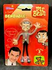 New 1990 NJCroce A Beany Bendable Mr. Bean Action Figure NIP Vintage