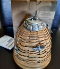 Longaberger Collector Club Bee Hive Basket complete set MINT FREE SHIPPING