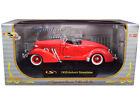 1935 AUBURN SPEEDSTER CORAL RED 1 32 DIECAST MODEL CAR SIGNATURE MODELS 32439r