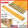 10PCS 23'' Wire Electrical Fish Tape Cable Fiberglass Coaxial Puller Running US