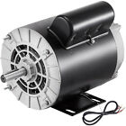 15HP Air Compressor Duty Electric Motor 56 Frame 3450 RPM 115 230V Single Phase
