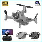 FPV Wifi Drone With HD Camera Aircraft Foldable Quadcopter Selfie4K Dual Camera