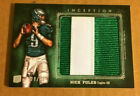 2012 Topps Inception Nick Foles Rookie Jersey Patch #20 25 MINT