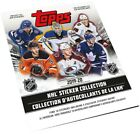 2020-21 Topps NHL Sticker Collection Hockey Cards - Checklist Added 22