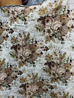 Vintage Floral Tapestry upholstery fabric by the yard 54 wide