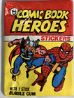 1975 Topps Comic Book Heroes Stickers 8
