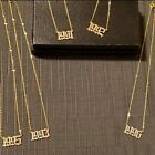 Birth Year Date Pendant Necklaces