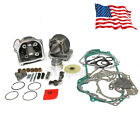 50mm Big Bore Cylinder Piston Kit GY6 50cc 100cc Scooter Moped 1P39QMB 139QMB US