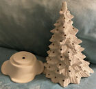Ceramic Bisque Ready To Paint Large Christmas Tree
