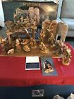 Fontani Golden Edition Heirloom Nativity Set W Box 54737 Nice