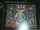 Vermont Christmas Company Stained Glass Nativity Jigsaw Puzzle 1000 PieceVC135