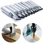 12 Pcs Leather Craft Hole Punch Set 2 5mm Oval Shape Cutter Tool For Watch Bands