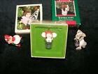 Vintage 1978 Hallmark Mouse in Thimble Little Tree Trimmer Christmas Ornament ++