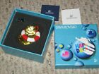 Swarovski Crystal Happy Ducks Yellow Duck life ring glasses 1041295 with box