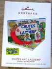 Hallmark 2018 Chutes and Ladders Family Game Night ornament- Mint in Box !