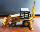 CASE 580C DIECAST 135 SCALE LOADER BACKHOE VINTAGE WITHOUT BOX MISSING STACK
