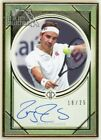 Roger Federer 2020 Topps Transcendent Tennis Collection Autograph 16 25 TCA-RF