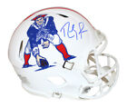 Randy Moss Signed New England Patriots Authentic TB Speed Helmet BAS 28985