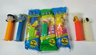 Vintage Pez Garfield Snoopy Gonzo SImpsons Marge Lisa Flintstones Barney Mix Lot
