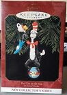 HALLMARK THE CAT IN THE HAT #1 DR SEUSS BOOKS SERIES 1999 CHRISTMAS ORNAMENTS