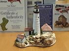 Lilliput Lane .. SAFE HARBOUR LIGHTHOUSE .. American Journey Collection
