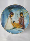 DeGrazia The Nativity Christmas Collector LTD Signed Plate 1979