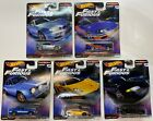 Hot Wheels Premium Fast  Furious Fast Imports Complete Set of 5