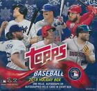 2018 Topps Holiday Baseball Mega Box Factory Sealed Unopened