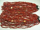 40 Strands 15 Assorted Styles Red 2nd Quality Handmade Glass Beads JZ 76