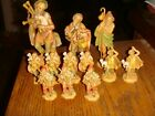 11 Vintage Depose Italy Fontanini Figurines 2 1 2 6 in Height FREE SHIPPING