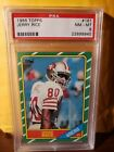 1986 Topps Jerry Rice Rookie PSA 8