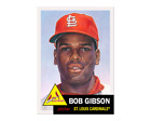 Bob Gibson Cards, Rookie Card and Autographed Memorabilia Guide 22