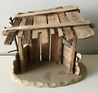 ANRI NATIVITY STABLE for KUOLT or FERRANDIZ 6 FIGURES WOOD CARVED