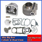 180cc Big Bore 61mm Cylinder Kit For GY6 125cc 150cc Scooter ATV Moped Go Karts