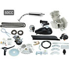 New 50cc Bicycle Motor Engine Kit CDI Ignition Two Strokes Gasoline Engine US