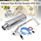 Scooter Performance Exhaust Stainless Pipe For GY6 50cc 125cc 150cc Scooter US