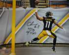 Chase Claypool Autographed Pittsburgh Steelers 16x20 Photo 4 TDs BAS 29373