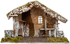 VILLAGE GIFT IMPORTERS Nativity Creche Stable  12 Tall and 19 Wide  2 Styles