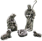 DANFORTH Holy Family Pewter Nativity Set Handcrafted Gift Boxed Made in