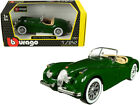 1951 JAGUAR XK 120 ROADSTER GREEN 1 24 DIECAST MODEL CAR BY BBURAGO 22018grn