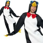 Christmas Penguin Costume Adults Xmas Nativity Play Mens Ladies Fancy Dress Outf
