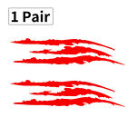 Headlight Claw Scratch Mark Decal Universal Fits Mustang Camaro Charger Durango