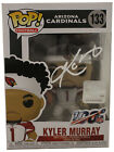 Kyler Murray Autographed Arizona Cardinals NFL Funko Pop #133 BAS 29395
