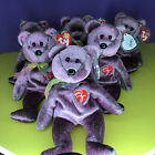 Lot of 6 Ty Beanie Babies The 2000 Signature BEAR