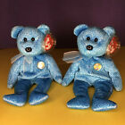 Lot of 2 TY Beanie Baby - CLASSY the Bear (People's Beanie) (8.5 inch)