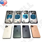 Back Glass Housing Cover Frame Assembly For iPhone 8 Plus X XS Max XR 11 Pro Max