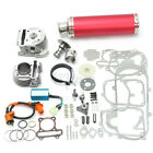 100cc Big Bore Set Power Pack Exhaust For Gy6 50cc QMB139 139QB Chinese Scooter